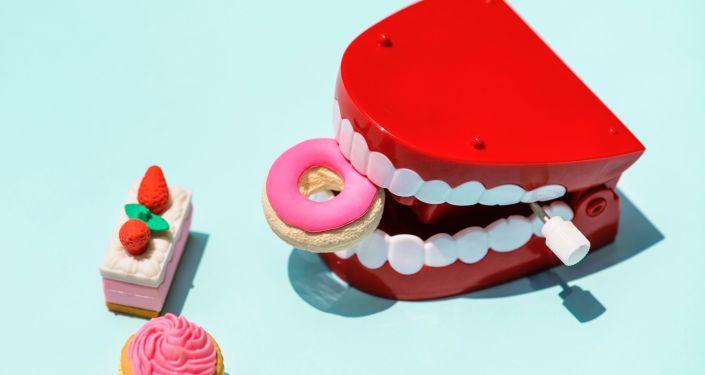 Unos pasteles de plástico (imagen referencial)
