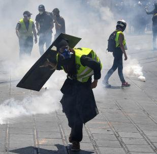 Protestas de los 'chalecos amarillos' en Francia