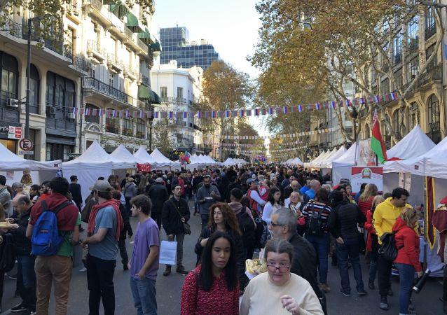 Décima edición de Buenos Aires Celebra: Rusia, en la Plaza de Mayo