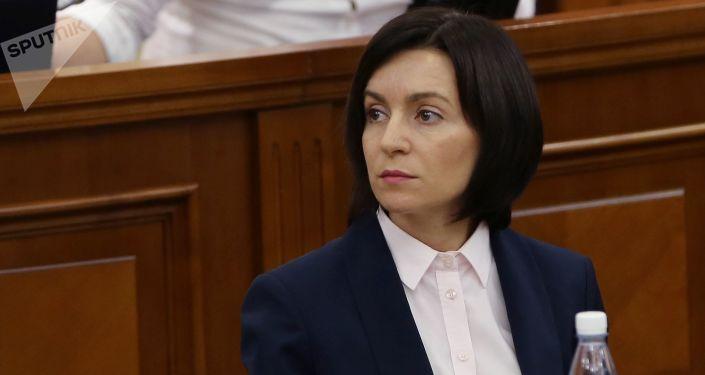 Maia Sandu, primera ministra moldava