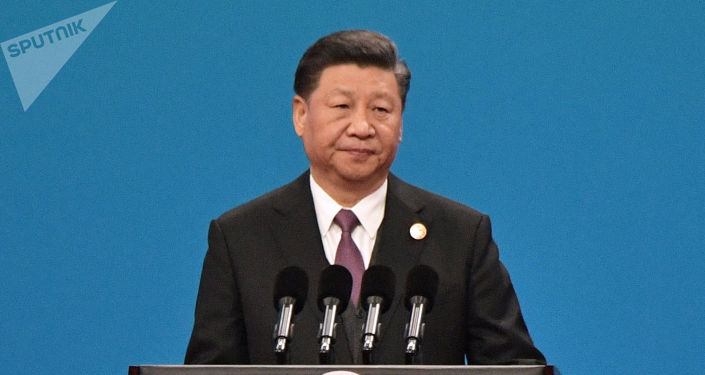 Xi Jinping en un foro sobre la Iniciativa de la Franja y la Ruta de la Seda