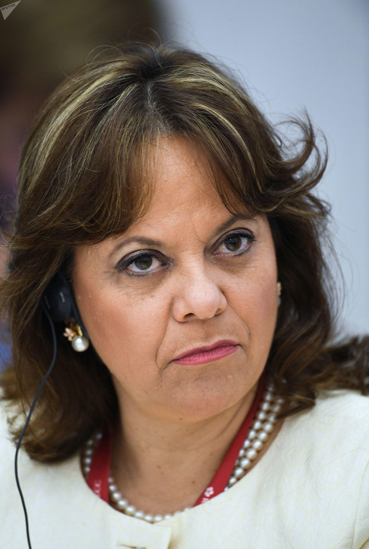 Vicecanciller mexicana Martha Delgado Peralta