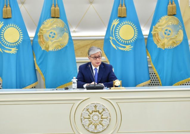 El presidente de Kazajistán, Kasim-Zhomart Tokáev
