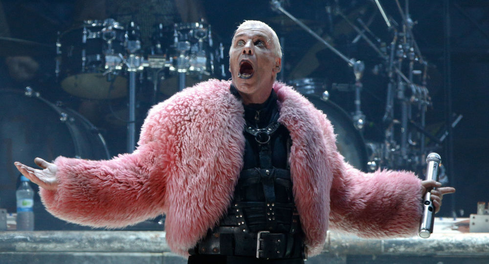 Till Lindemann, líder de la banda Rammstein