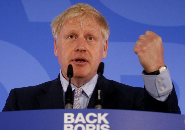 El exalcalde de Londres y ministro de Exteriores británico, Boris Johnson