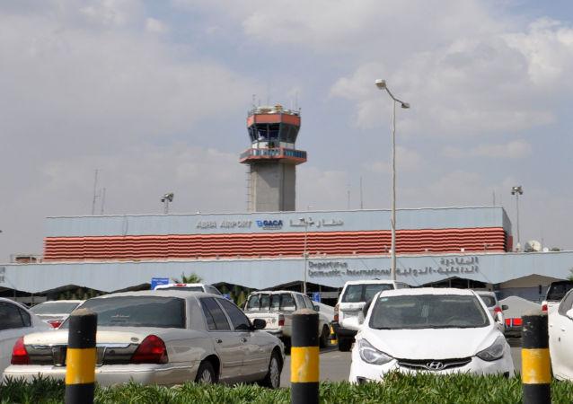 El aeropuerto de Abha, Arabia Saudí