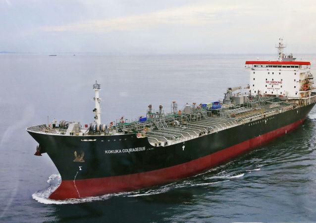 El buque japonés Kokuka Courageous atacado en el golfo de Omán