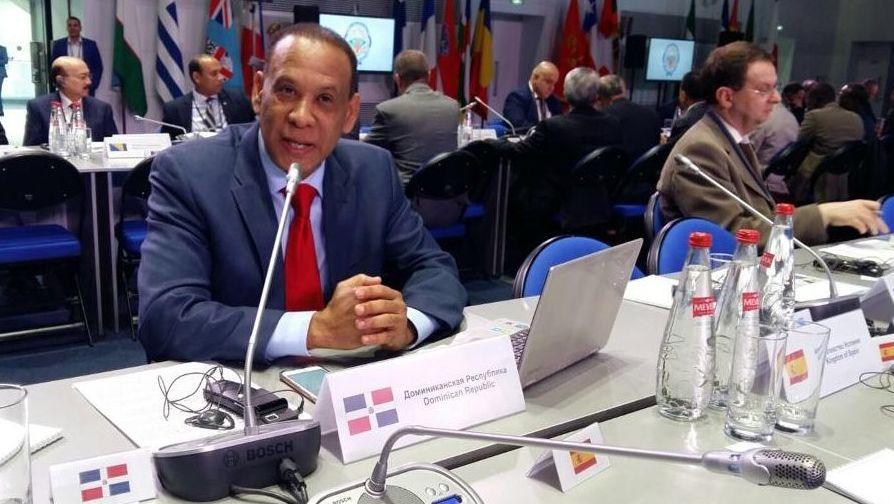 José Manuel Castillo Betances, embajador de la República Dominicana en Rusia