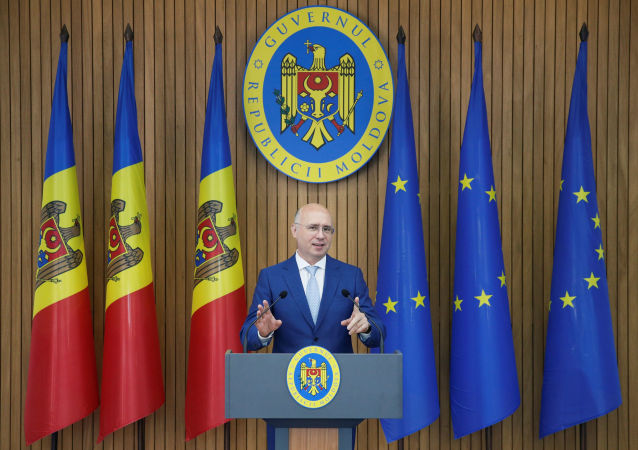 Pavel Filip, ex primer ministro de Moldavia
