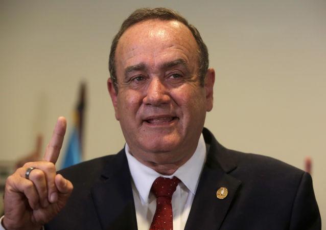 Alejandro Giammattei, candidato presidencial guatemaleteco