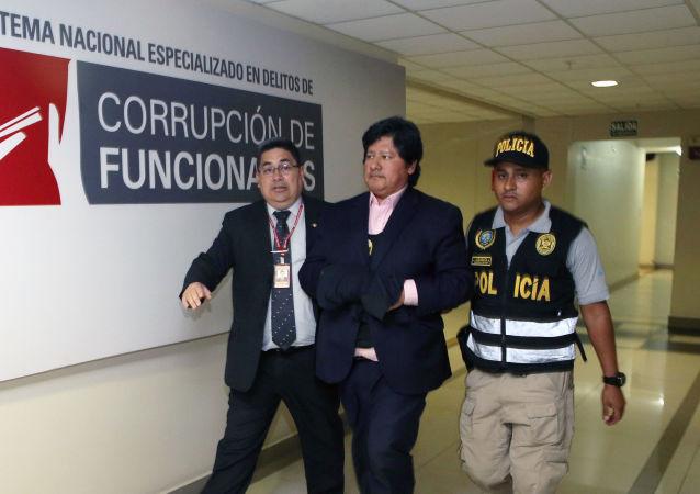Edwin Oviedo, expresidente expresidente de la Federación Peruana de Fútbol
