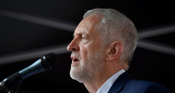 Jeremy Corbyn, líder opositor británico