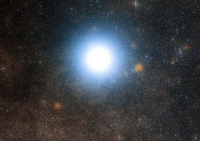 Una estrella de Alfa Centauri