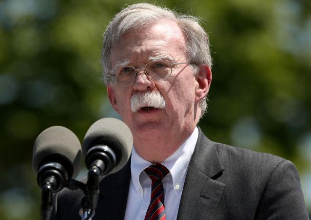 El asesor de Seguridad Nacional de la Casa Blanca, John Bolton