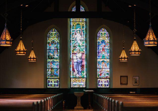 Una iglesia católica (imagen referencial)