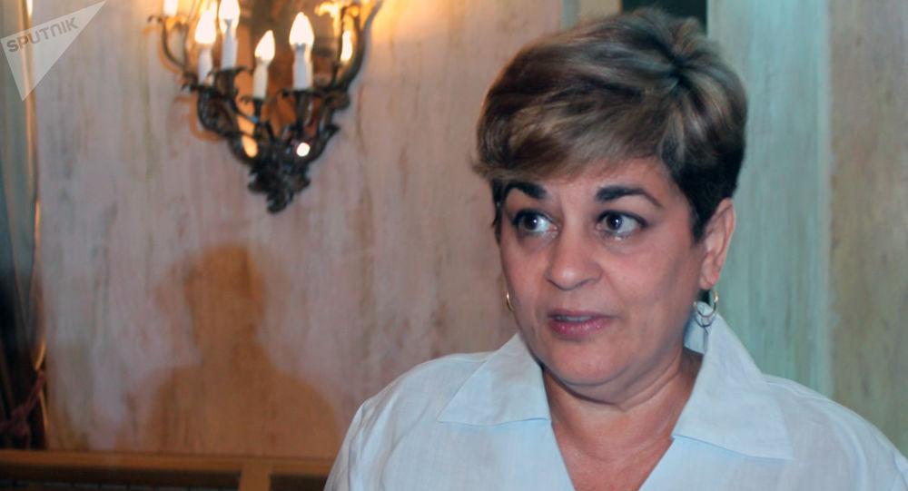 Déborah Rivas, directora general de Inversiones del Ministerio del Comercio Exterior e Inversión Extranjera (MINCEX)
