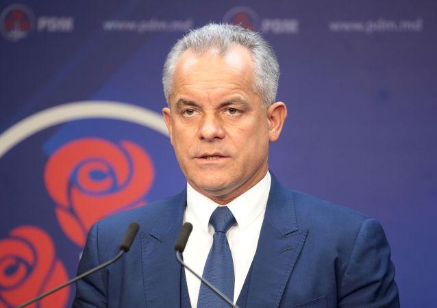 Vlad Plahotniuc, líder del Partido Democrático de Moldavia