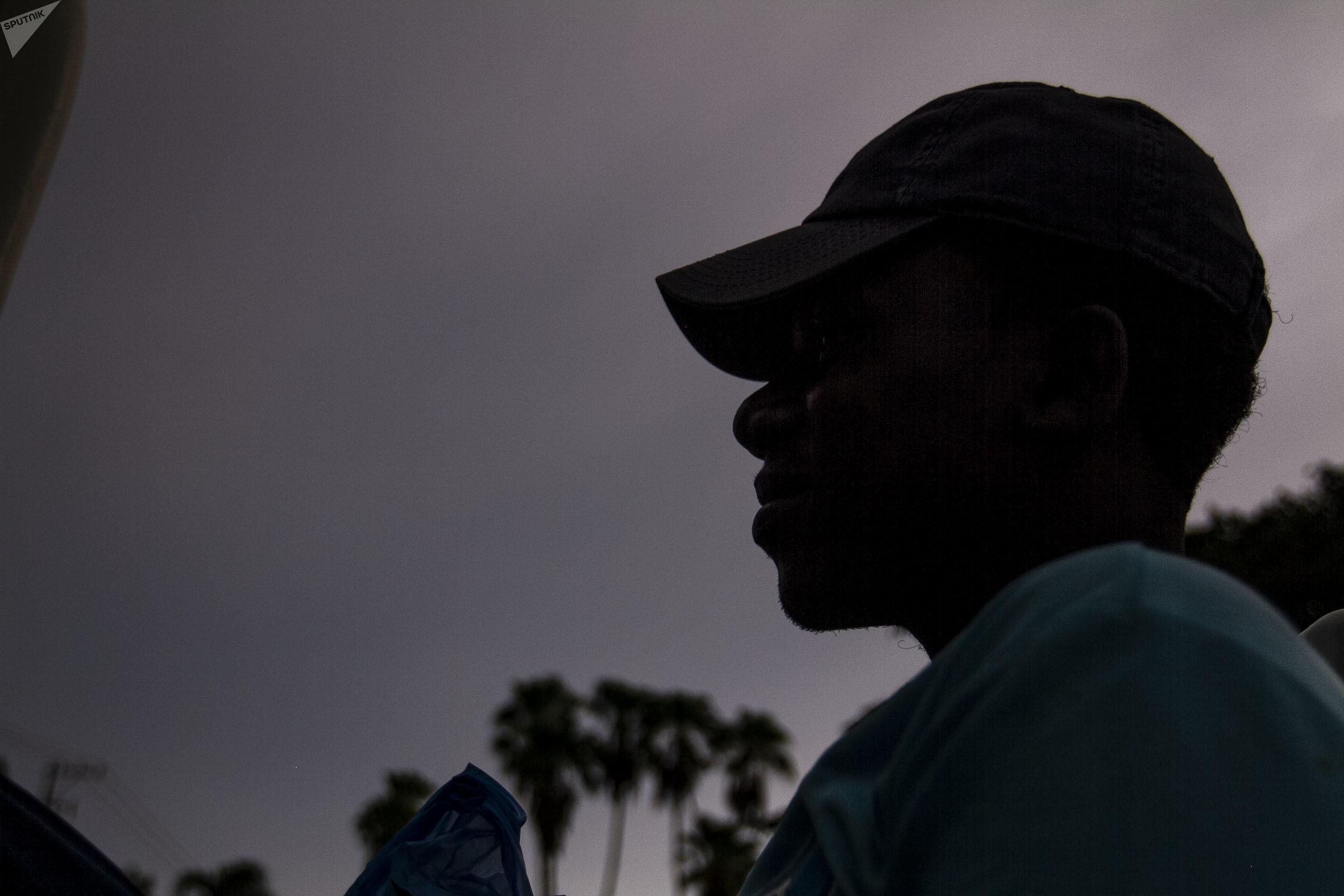 John, un joven que tendrá que esperar un mes por novedades sobre su petición de refugio en México