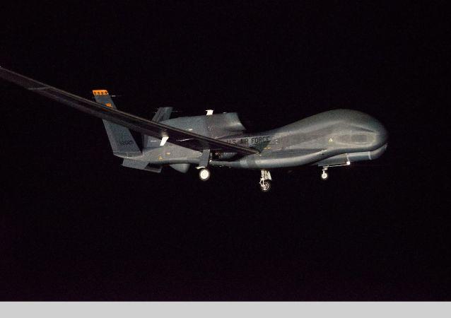 Dron de EEUU Global Hawk