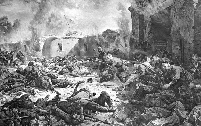 El día 22 de junio de 1941, Adolf Hitler puso en acción la Operación Barbarroja, su plan de invasión a la Unión Soviética. La primera gran batalla se dio en la ciudad soviética de Brest (actual Bielorrusia), más precisamente, en la fortaleza de Brest.