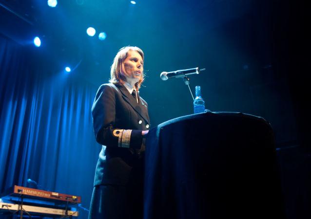 Louise Dedichen, contraalmirante de las Fuerzas Armadas de Noruega