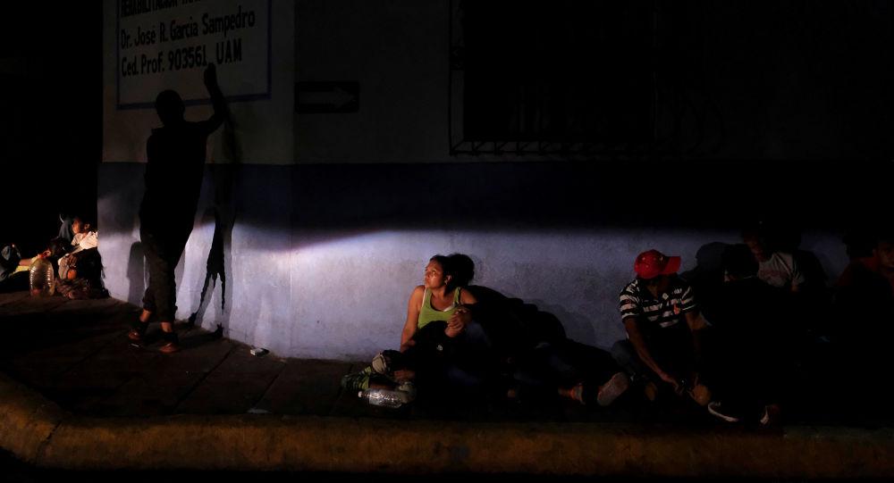 Migrantes centroamericanos en México