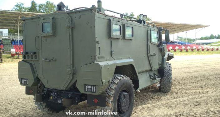 Vehículo blindado Tigr Next