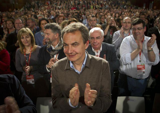 José Luis Rodríguez Zapatero, expresidente del Gobierno de España