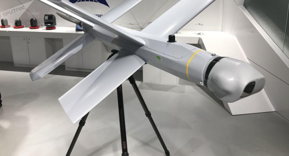El dron ruso Lancet