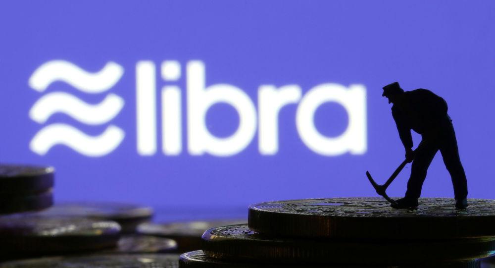 Logo de la criptodivisa libra de Facebook