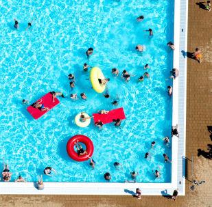 Una piscina (imagen referencial)