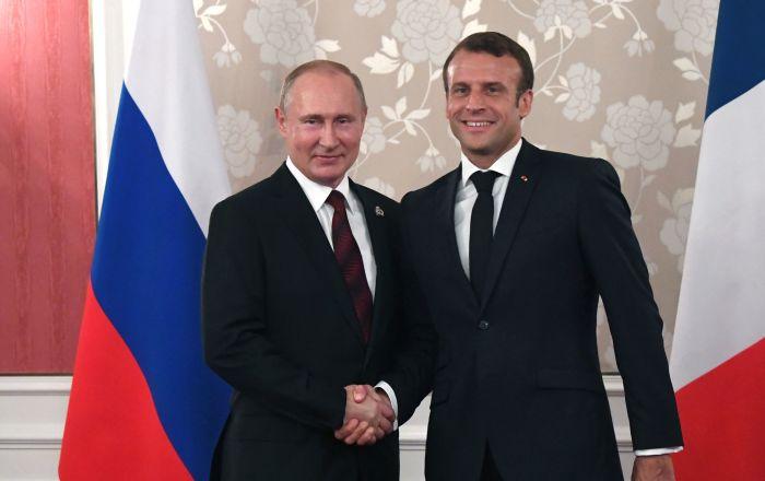 """""""La reunión entre Macron y Putin contribuirá a aliviar las sanciones"""""""