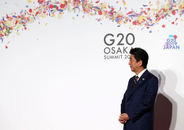 Shinzo Abe, primer ministro de Japón en el G20