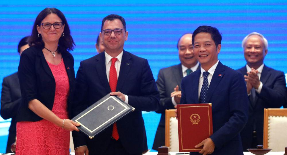 Acuerdo de libre comercio entre la UE y Vietnam