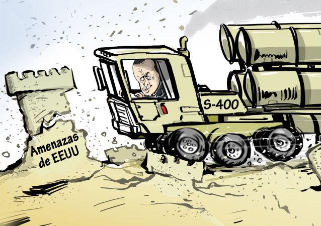 Las amenazas de Trump son castillos de arena para los S-400 de Turquía