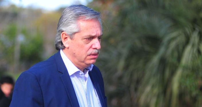 Alberto Fernández, candidato a la presidencia de Argentina (archivo)