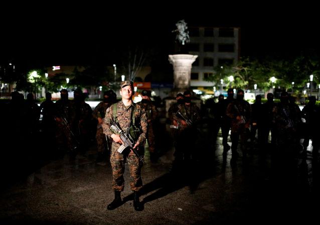 Militares de El Salvador