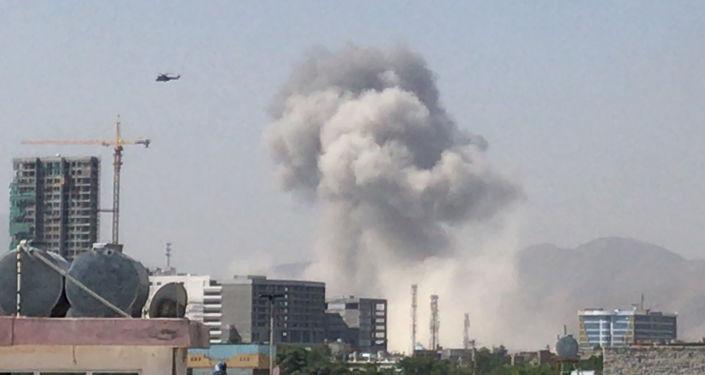 El ataque talibán en Kabul