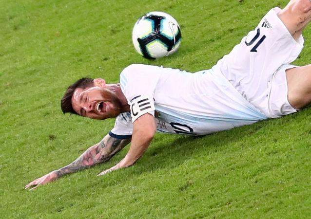 Leo Messi, futbolista argentino