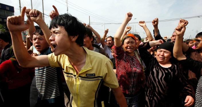 Las protestas étnicas en Xinjuang, región noroccidental de China