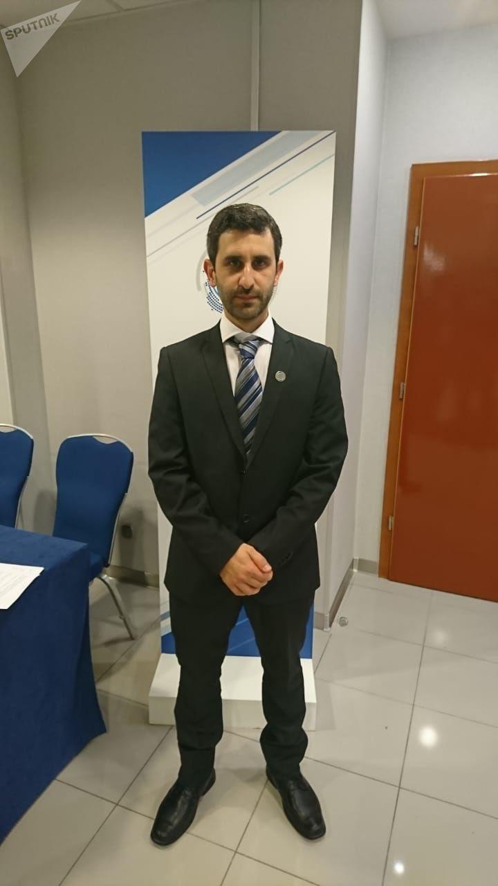 El presidente del Parlasur, el diputado uruguayo Daniel Caggiani Gómez