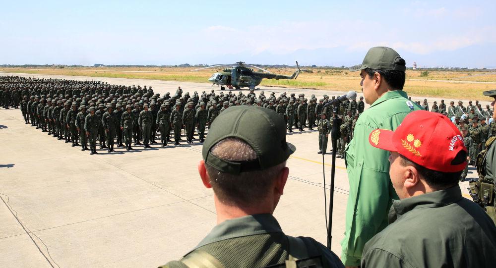 Nicolás Maduro, presidente de Venezuela y los militares venezolanos
