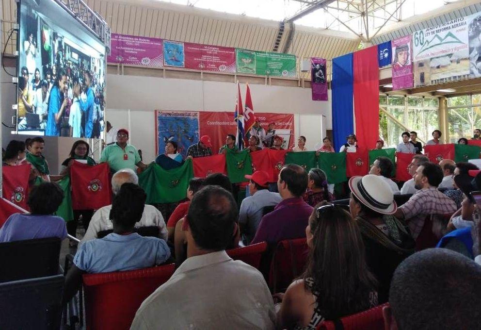VII Congreso Continental de la Coordinadora Latinoamericana de Organizaciones del Campo (CLOC-La Vía Campesina)