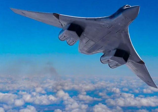 Bombardero ruso Tu-160 Cisne Blanco