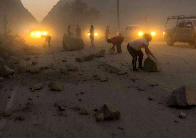 Consecuencias del terremoto en California