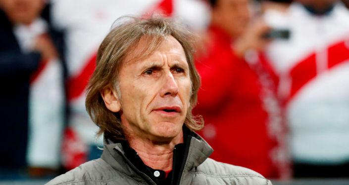 Ricardo Gareca, entrenador de la Selección Peruana de Fútbol