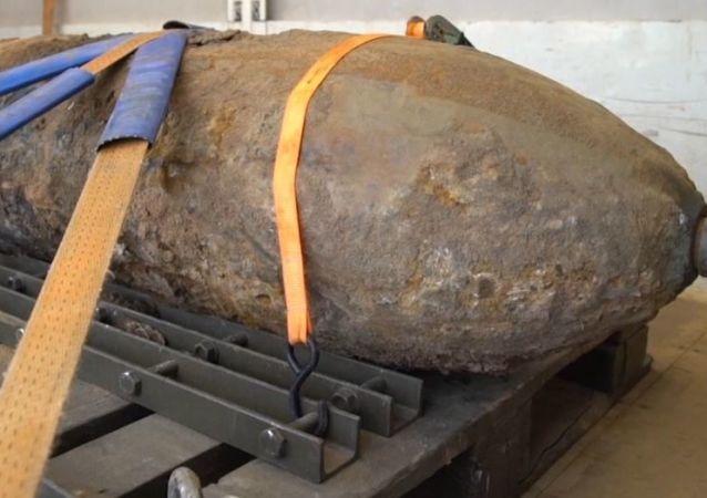 Una bomba de media tonelada de la II Guerra Mundial hace ruido en Alemania