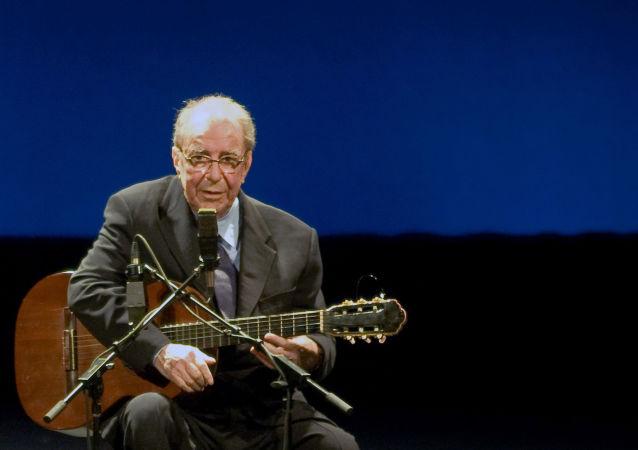 Joao Gilberto, cantante y compositor brasileño