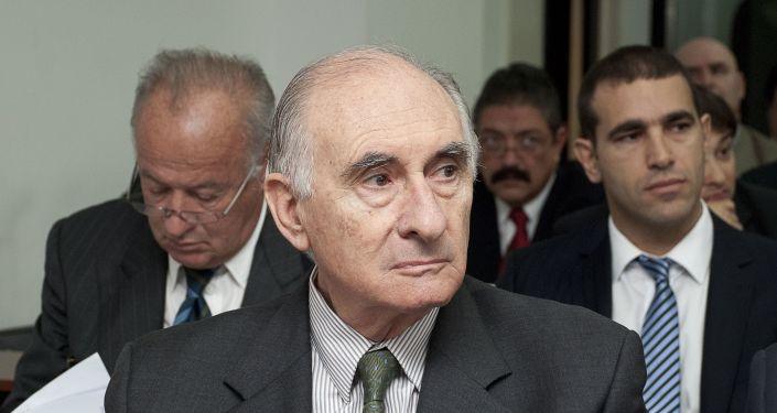 Fernando de la Rúa, expresidente de Argentina (archivo)