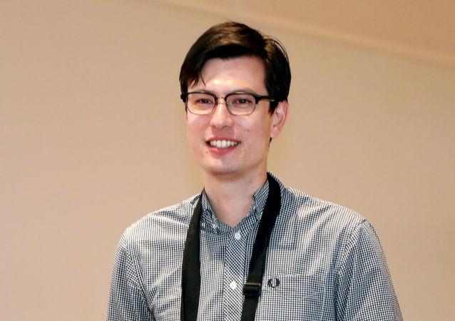 El estudiante australiano Alek Sigley